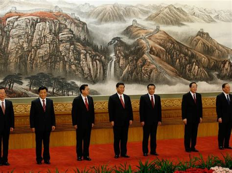 CHINA The new members of the CPC politburo (An overview)
