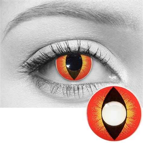 Banshee Contacts | Slit Pupil Contacts | LensDirect