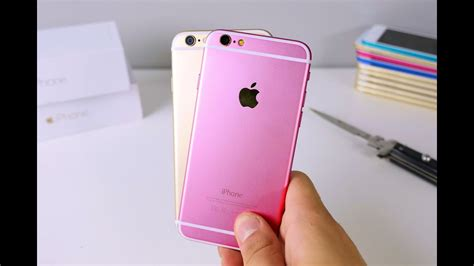 iPhone 6S Clone Unboxing - Rose Gold Color - YouTube