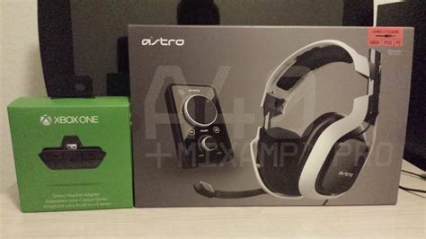 Astro A40 Gaming Headset /Xbox One Stereo Headset Adapter