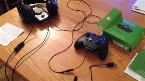 Xbox One Stereo Headset Adapter Setup Tutorial w/ Wired