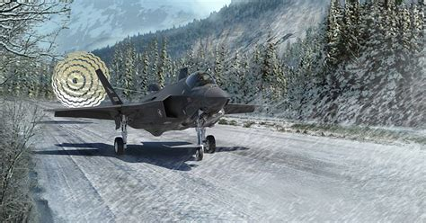 NORWEGIAN F-35 SUCCESSFULLY COMPLETES DRAG CHUTE TEST