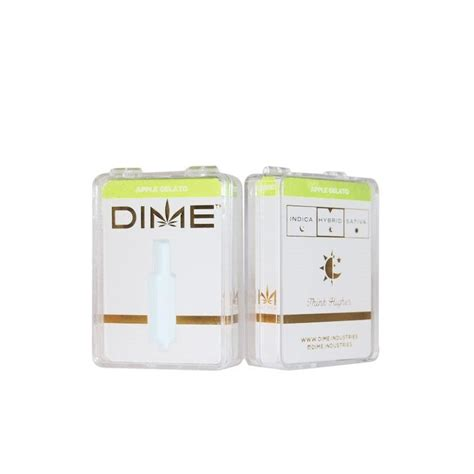 Dime Packaging 9 Flavors With