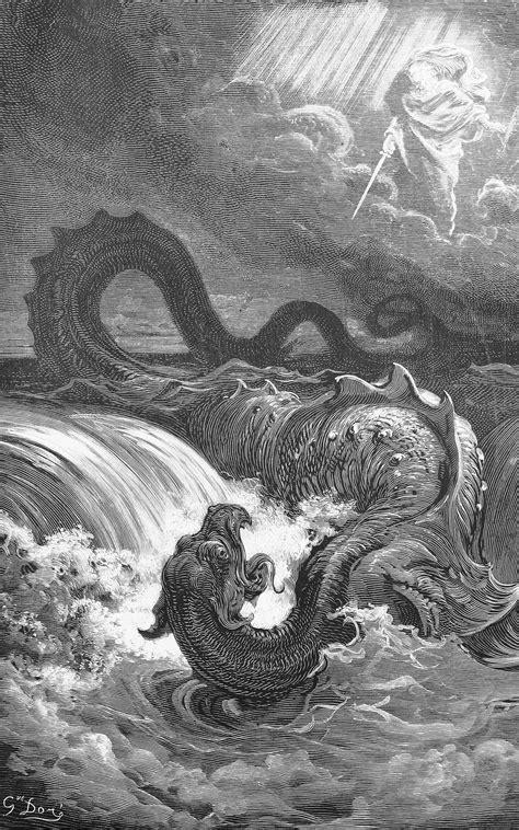 Leviathan, from artist Gustave Dore