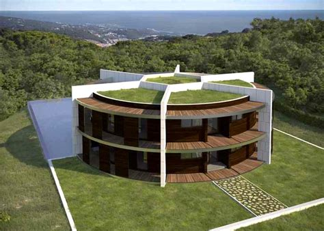 Architect Designs a Soccer Ball-Shaped House for Famous