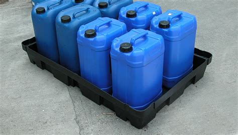 100 Litre Spill / Drip Trays, Made from 100% Recyclable PE