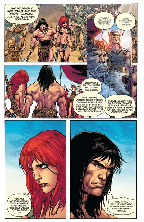 Dynamite® Red Sonja / Conan: The Blood Of A God Hardcover