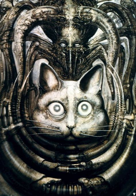 Hans Giger The Swiss surrealist famous for his