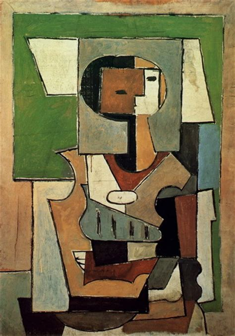 Pablo Picasso — Composition with character [Woman with