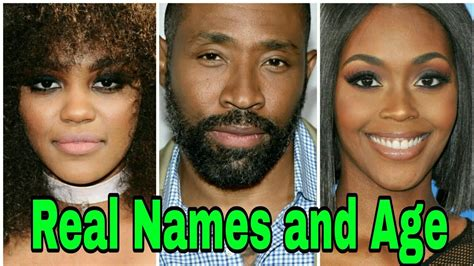 Black Lightning Cast Real Names and Age - YouTube
