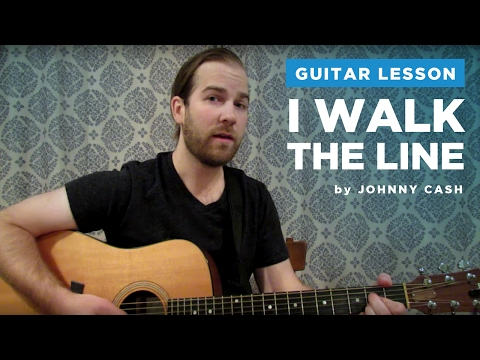 Ring of Fire (JOHNNY CASH) Easy Strum Guitar Lesson How to