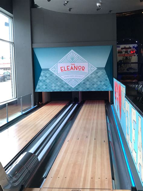 A mini-bowling alley is just one of the lively attractions