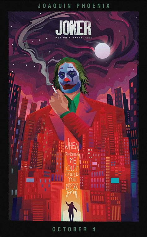 See Top 10 Fan-Made Posters of Joker (2019) | Cultural Hater