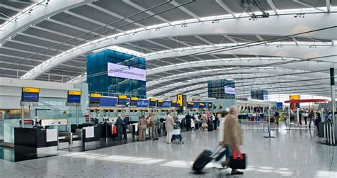 Airlines operating from Heathrow Airport Terminal 5
