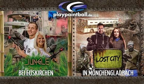 5 x in NRW - Paintball bei playpaintball