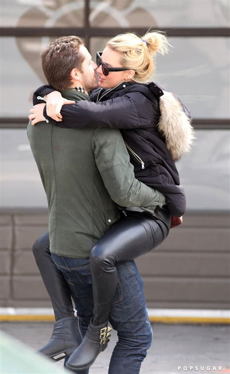 Margot Robbie Straddles and Kisses Tom Ackerley   Pictures