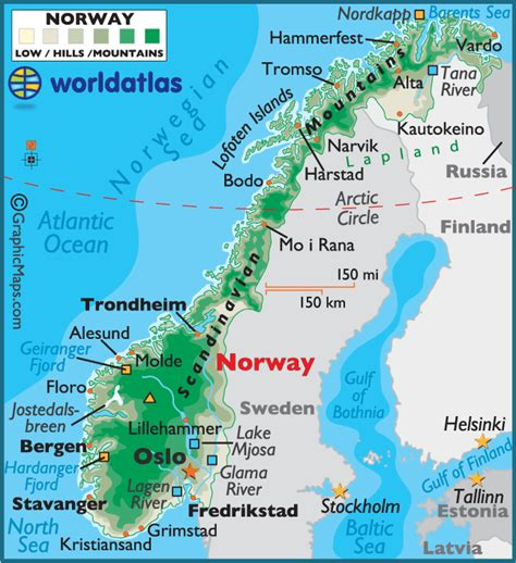 Sognefjord Norway Map - TravelsFinders