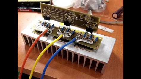 Own build 5Kw Brushless Controller - YouTube