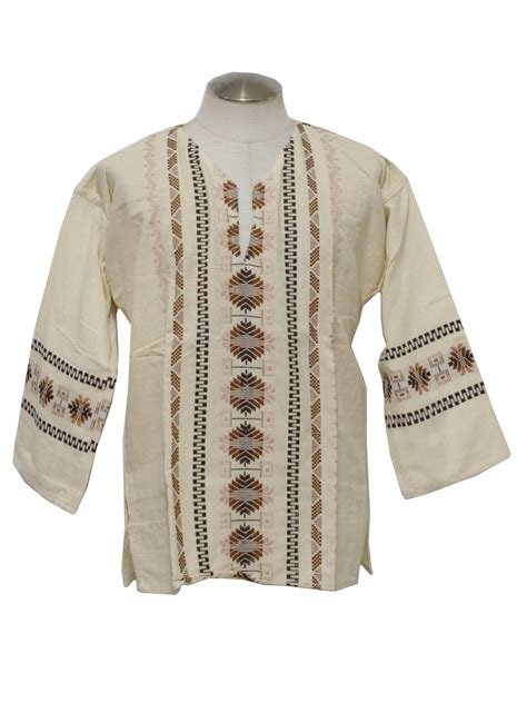 70's Hippie Shirt: 70s reproduction (made new recently