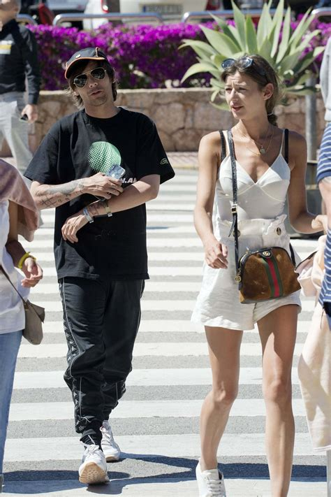 Louis Tomlinson and Eleanor Calder on Vacation in Ibiza