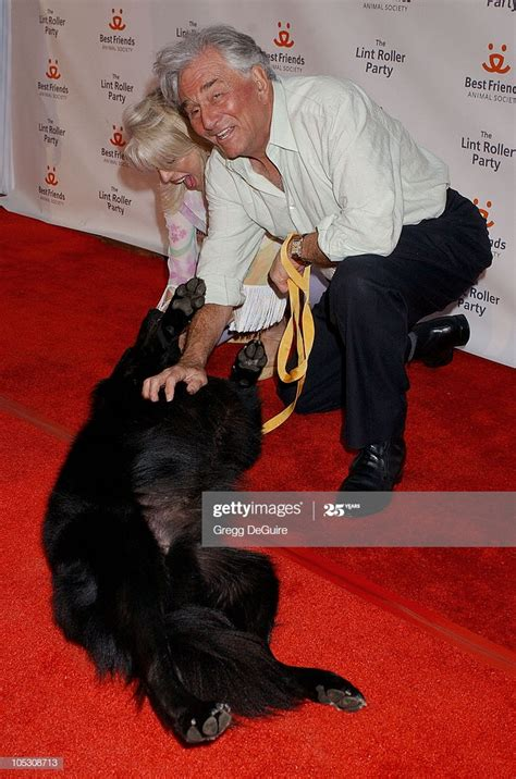 Peter Falk and wife Shera Danese during 2004 Annual Lint