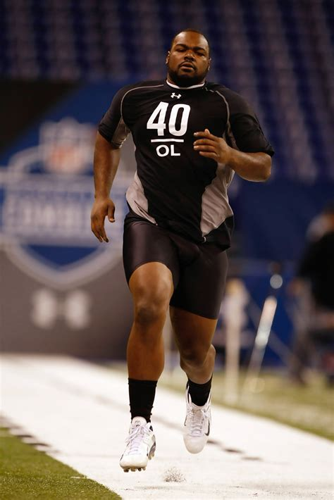Michael Oher - Michael Oher Photos - 2009 NFL Scouting