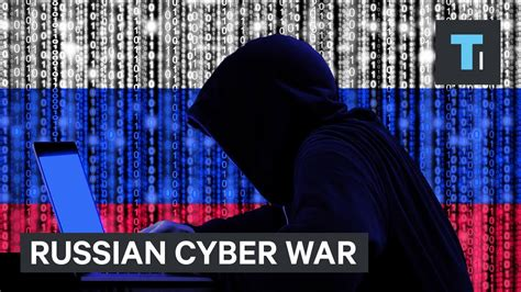 'We already are in a cyber war' with Russia - YouTube