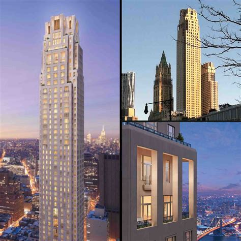 TOP TENS - TEN TALLEST RESIDENTIAL TOWERS IN NYC
